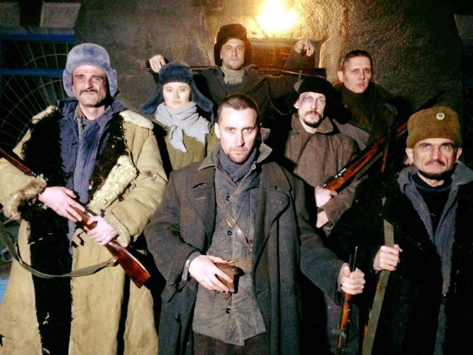 Новости  Начались съемки фильма «Красный» по роману Андрея Кокотюхи