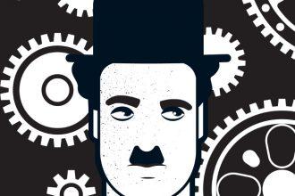 Чарли Чаплин. Иллюстрация: Andy Tuohy