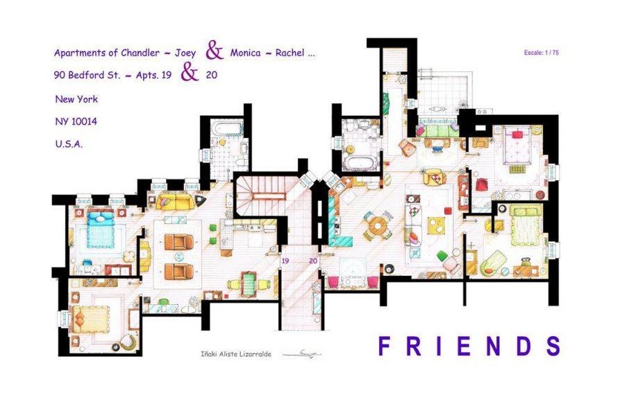 Квартиры Чендлера и Моники («Друзья»)