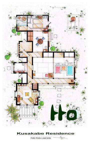 Дом Кусакабе («Мой сосед Тоторо»)