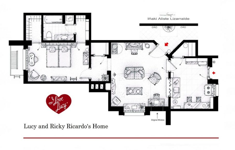 Квартира Люси и Рики Рикардо («Я люблю Люси»)