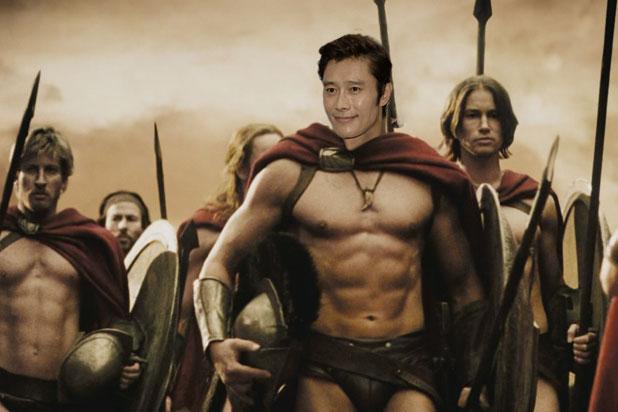 «300 спартанцев» в исполнении Ли Бён-Хона