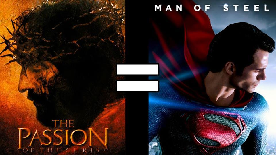 Статьи  Писание от Михеда: Иисус Супермен