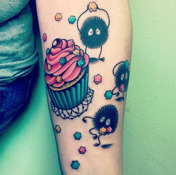 Новости  20 татуировок, вдохновенных фильмами Хаяо Миядзаки