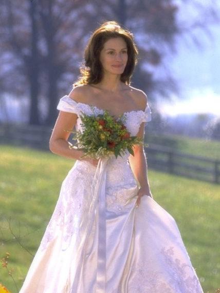 Новости  Составлена подборка самых красивых свадебных платьев из кино