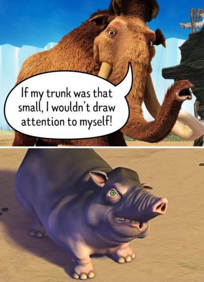 Статьи  Грязные взрослые шутки, зашифрованные в детских мультфильмах