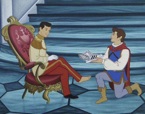 Новини  Ілюстрації, що демонструють персонажів Disney в сучасних реаліях