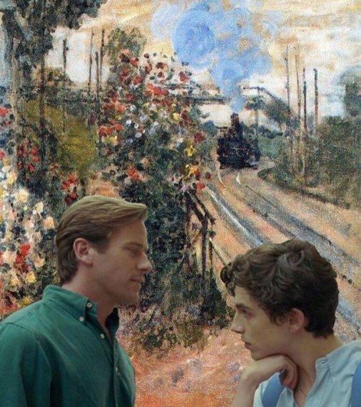 Новости  Кадры из фильма «Зови меня своим именем» совместили с картинами Клода Моне