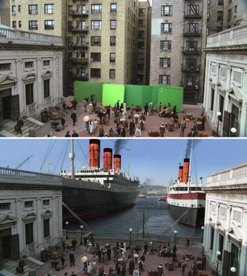 Статьи  Как известные фильмы выглядели до наложения спецэффектов