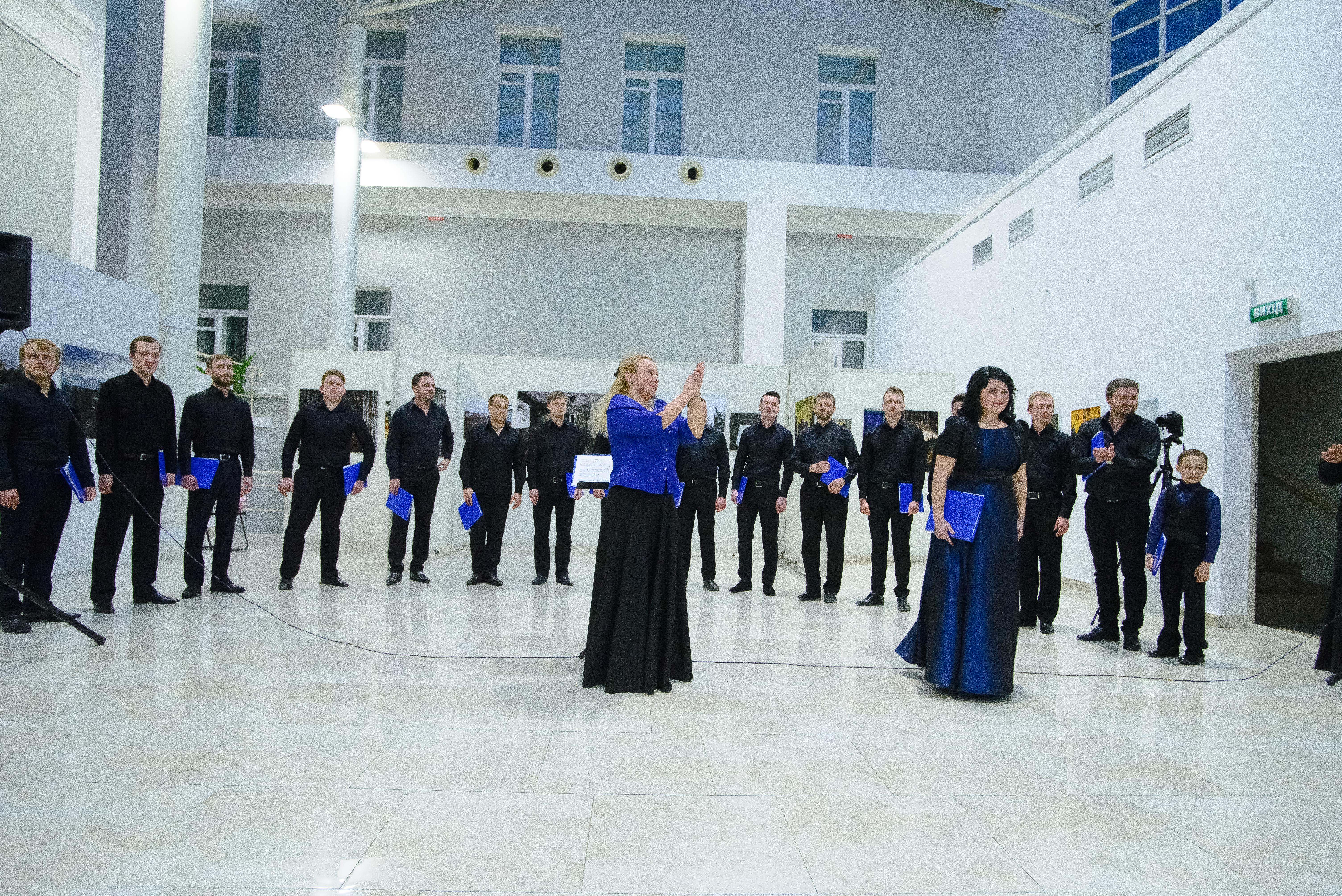 Новости  В Киеве состоялся концерт хоровой музыки в память о трагедии на ЧАЭС
