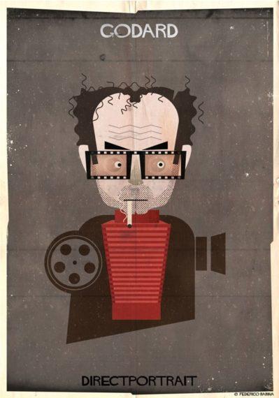 Новости  Опубликована серия креативных портретов известных режиссеров