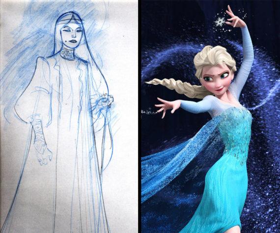 Новости  Какмогли бывыглядеть любимые персонажи мультфильмов: первые эскизы