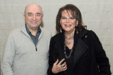 Сергей Рахлин и Клаудиа Кардинале (Фото Ассоциации зарубежной прессы Голливуда (HFPA)
